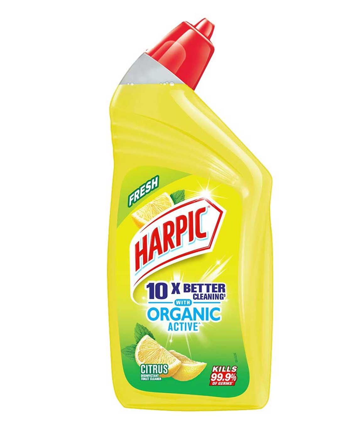 Harpic Organic Active disinfectant toilet cleaner, Citrus 500ml