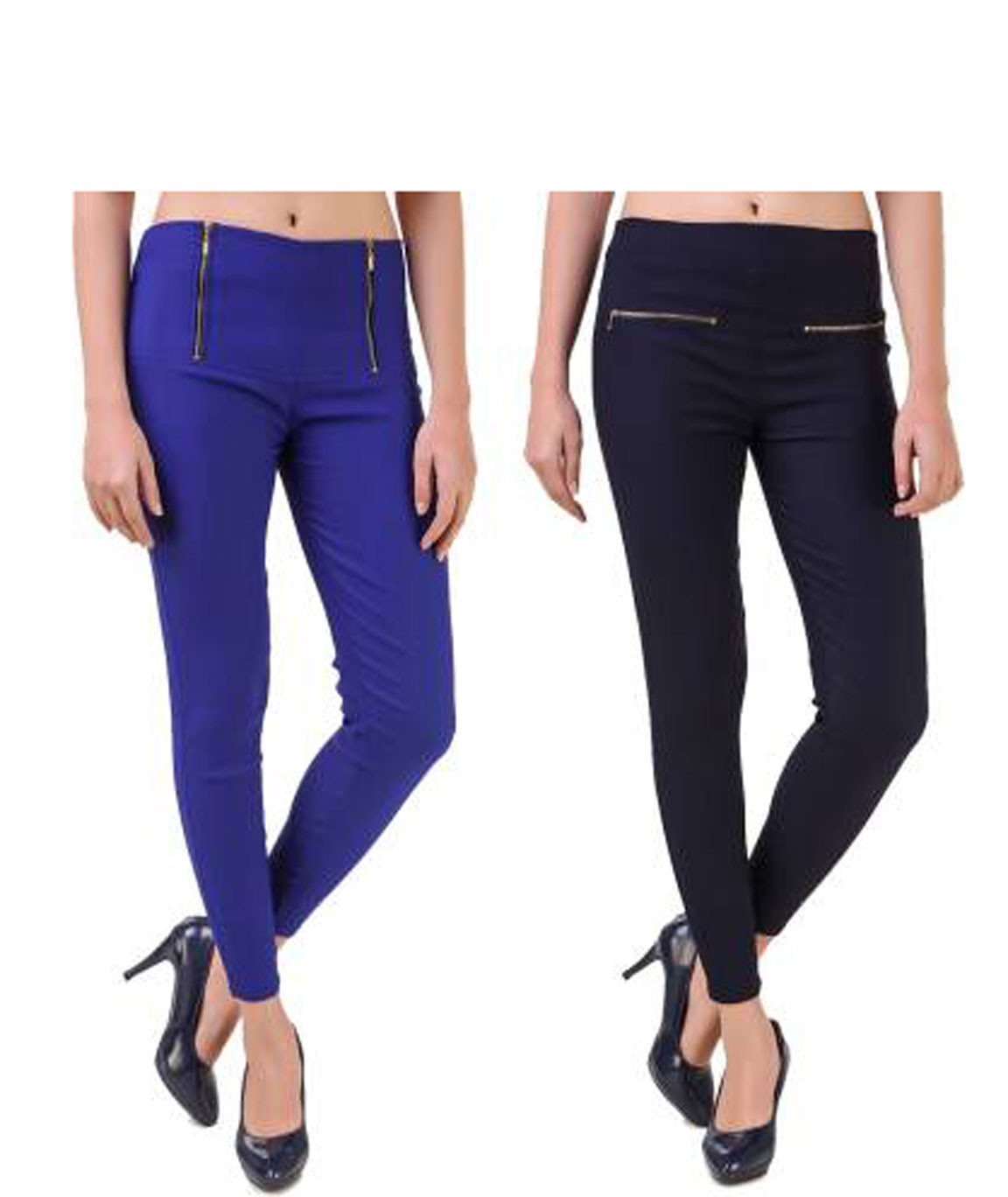 I KING BLUE, NAVY BLUE JEGGING (SOLID)