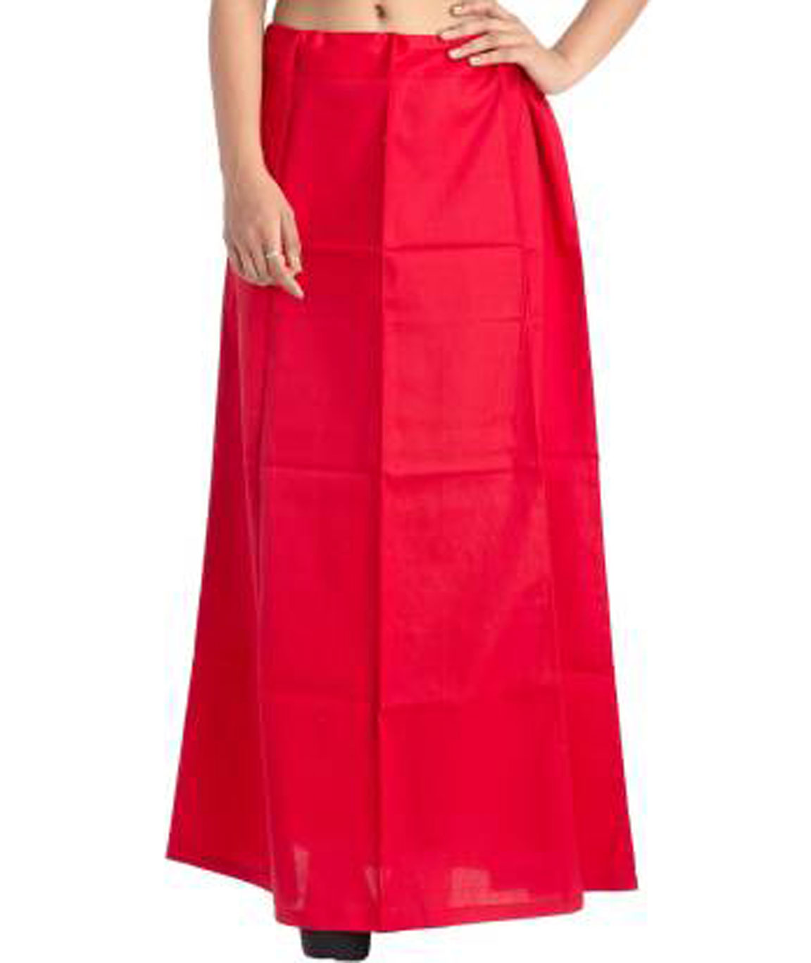 I KING COTTON BLEND PETTICOAT (RED)