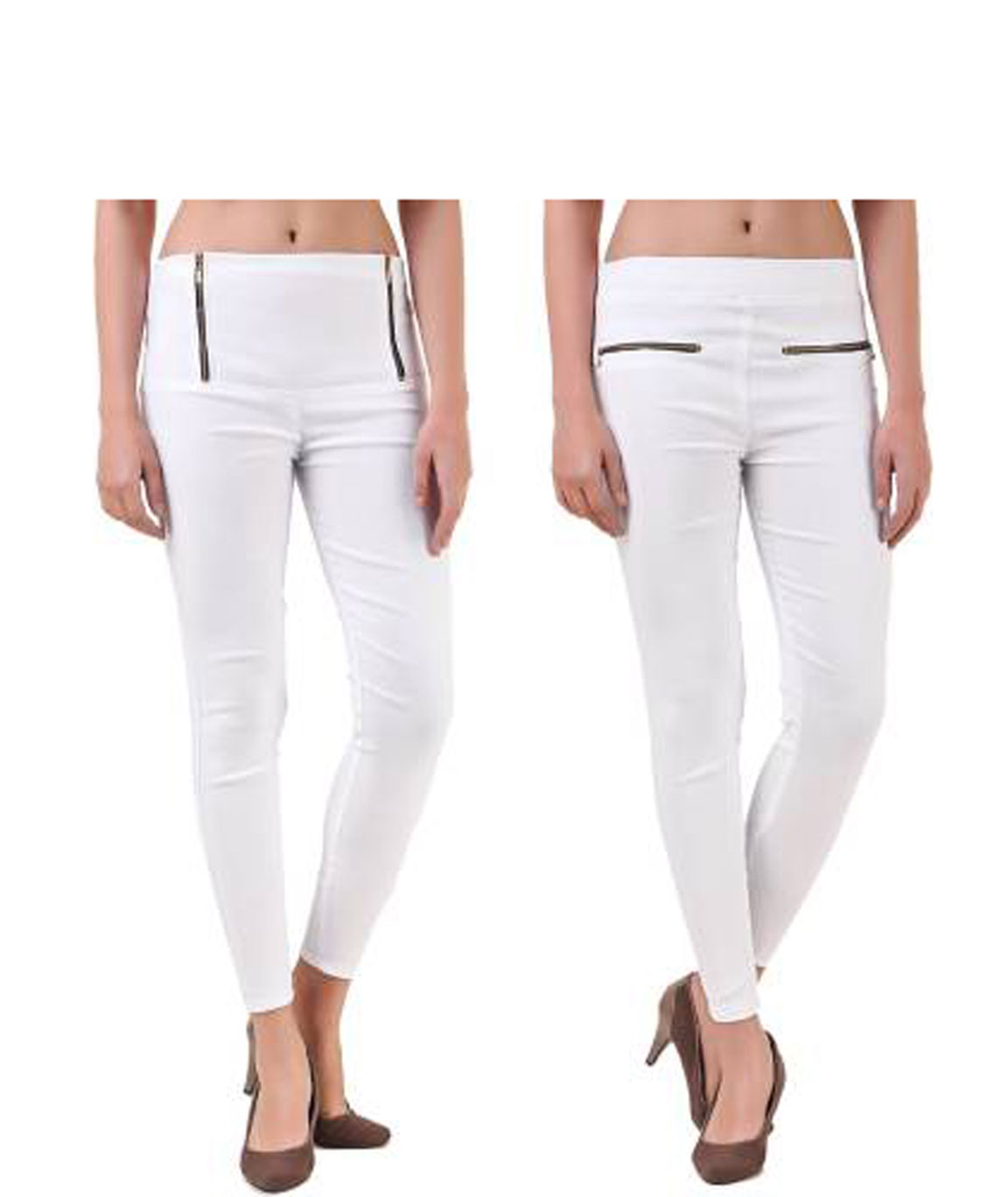I KING JEGGING (WHITE)