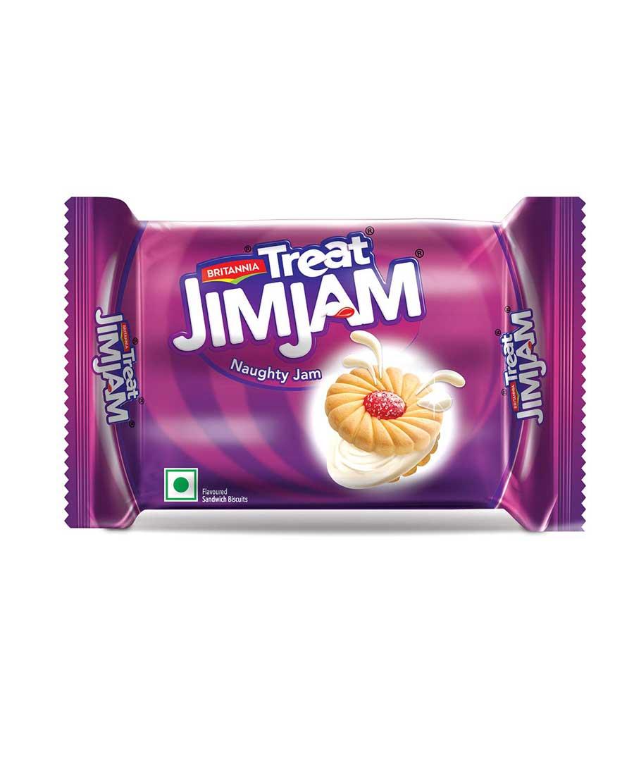 Britannia Treat Jim Jam Biscuits