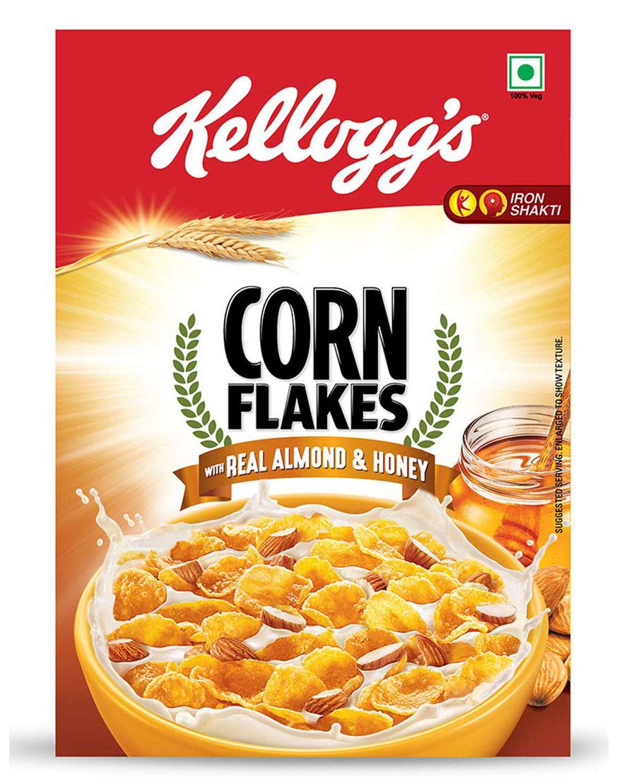 Kelloggs Almond Corn Flakes, 650 gm
