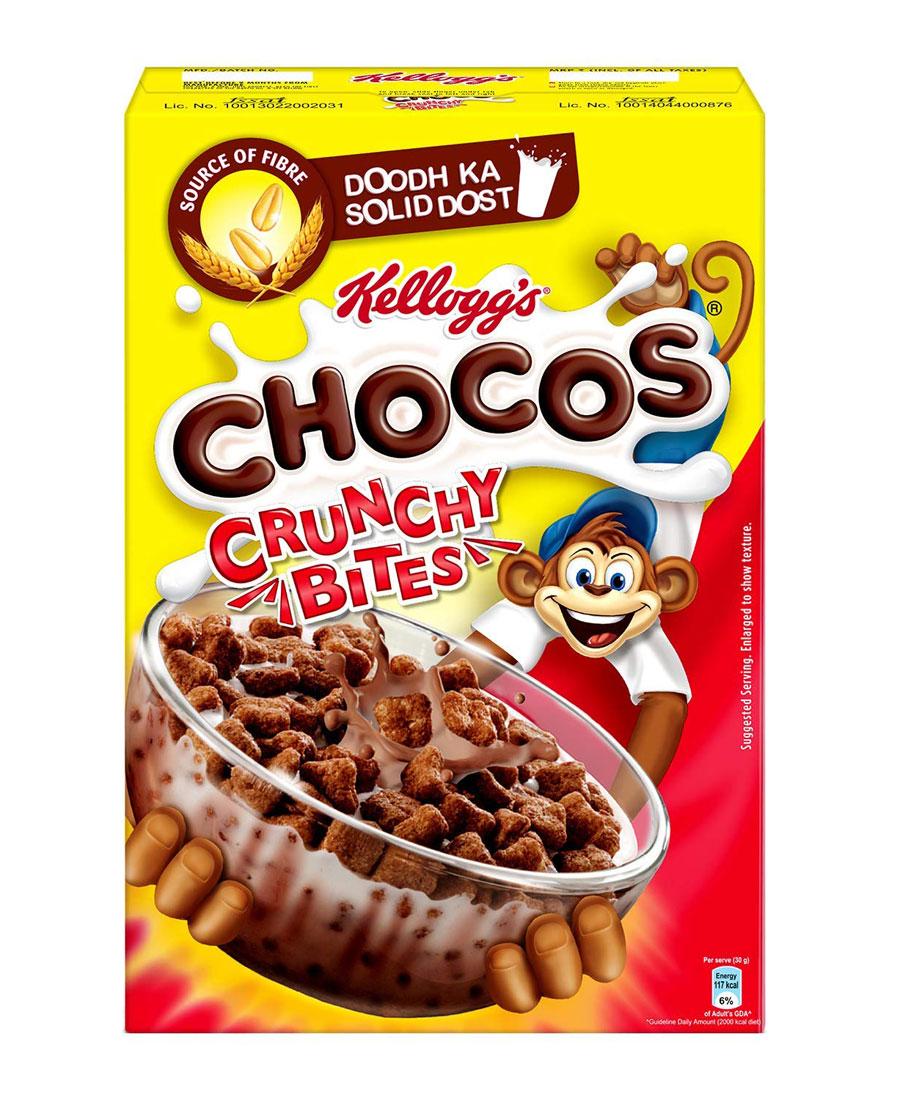 Kelloggs Chocos Crunchy Bites, 375 gm