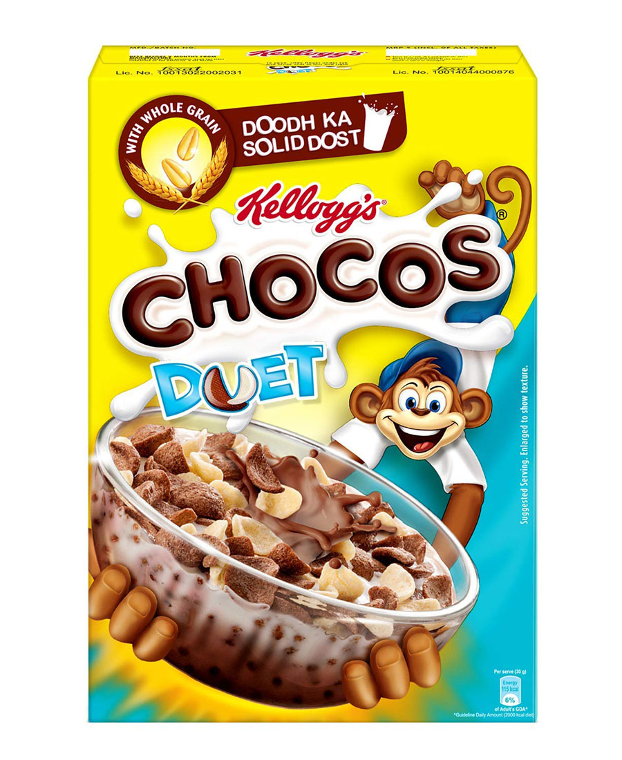 Kelloggs Chocos Duet, 375 gm
