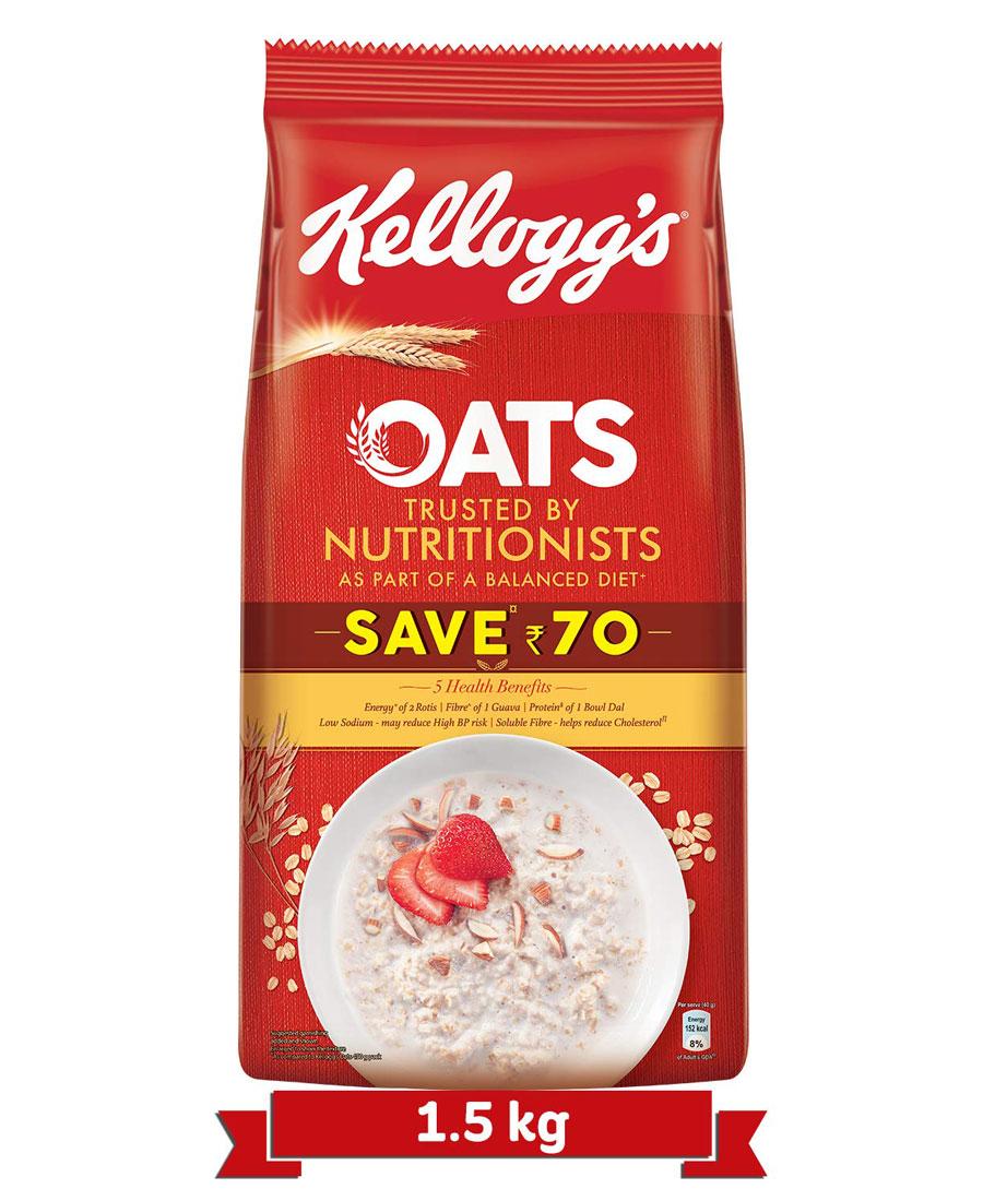 Kelloggs Oats, 1.5 Kg
