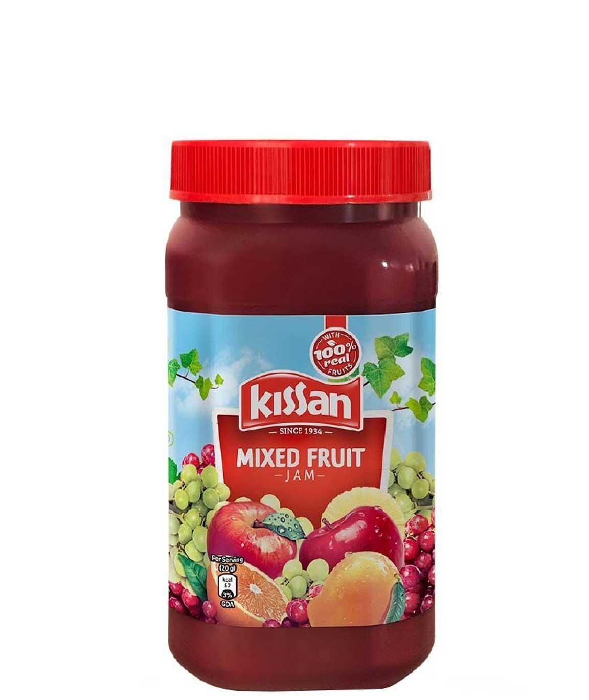 Kissan Mixed Fruit Jam, 1.04 kg