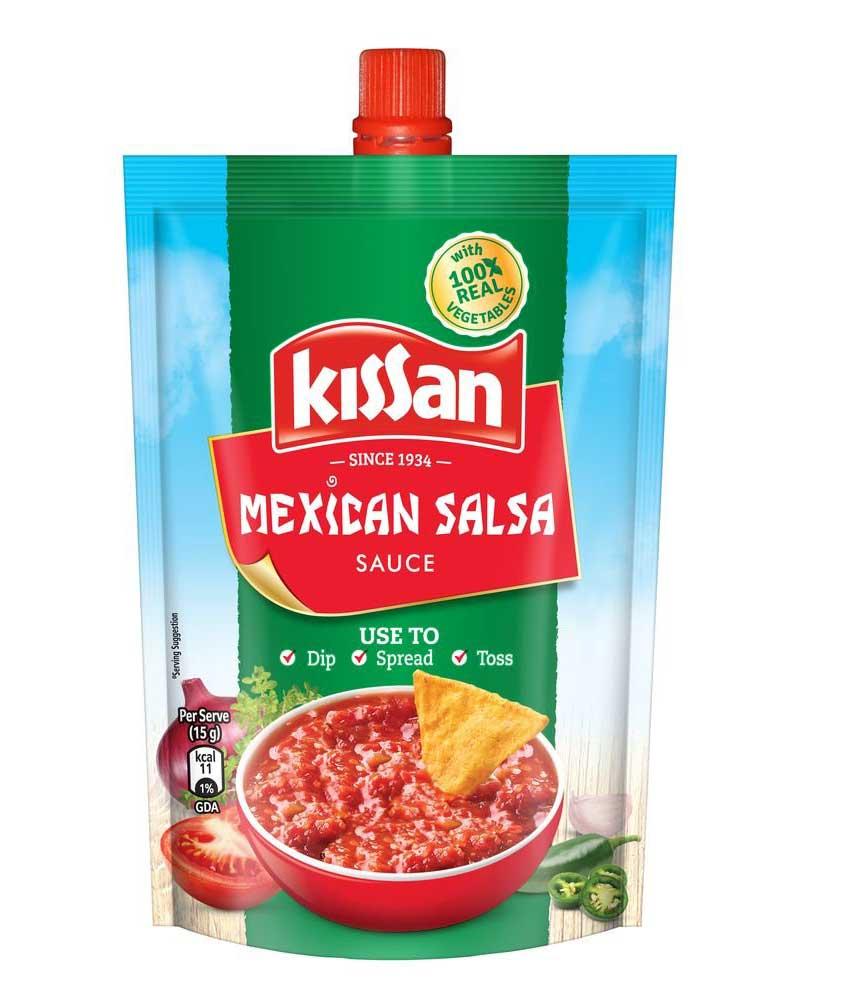 Kissan Sauce, Mexican Salsa, 200g