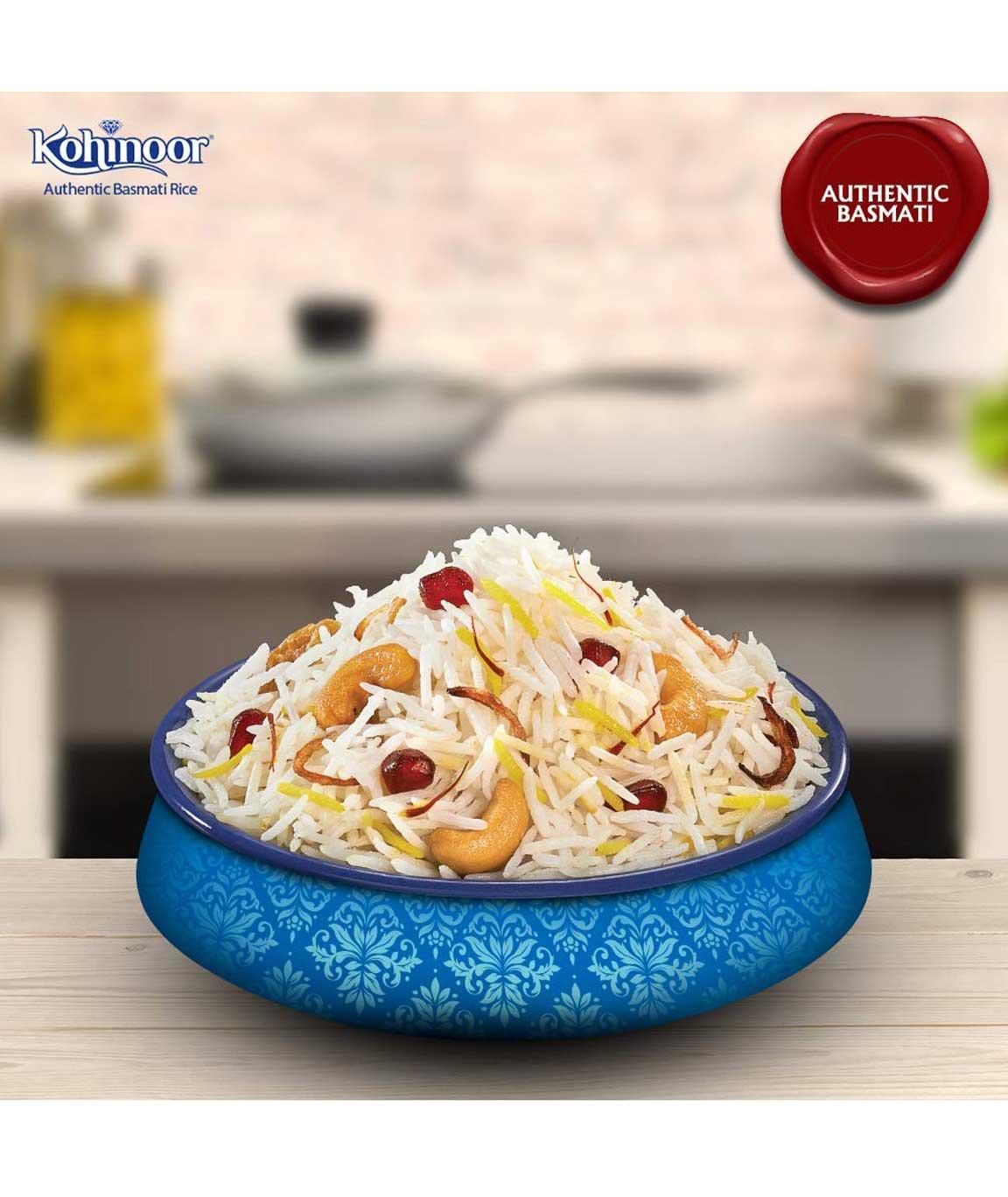 Kohinoor Super Value Basmati Rice, Blue, 1.2kg