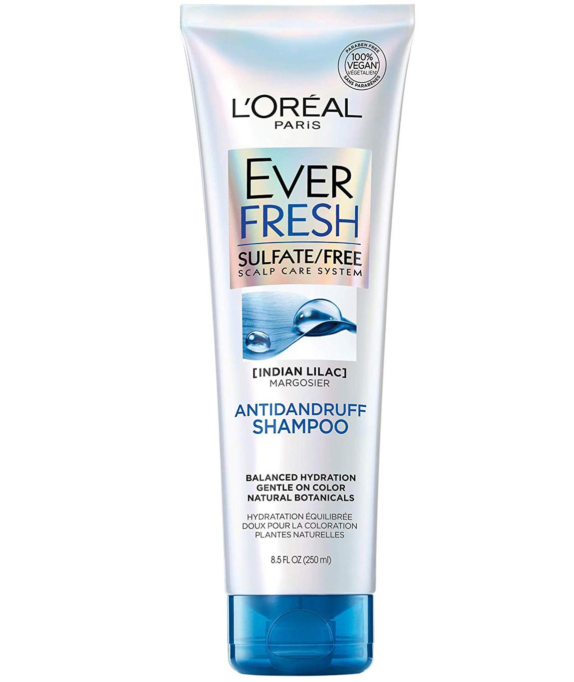 L`Oréal Paris EverFresh Antidandruff Shampoo Sulfate Free, 8.5 fl. oz.