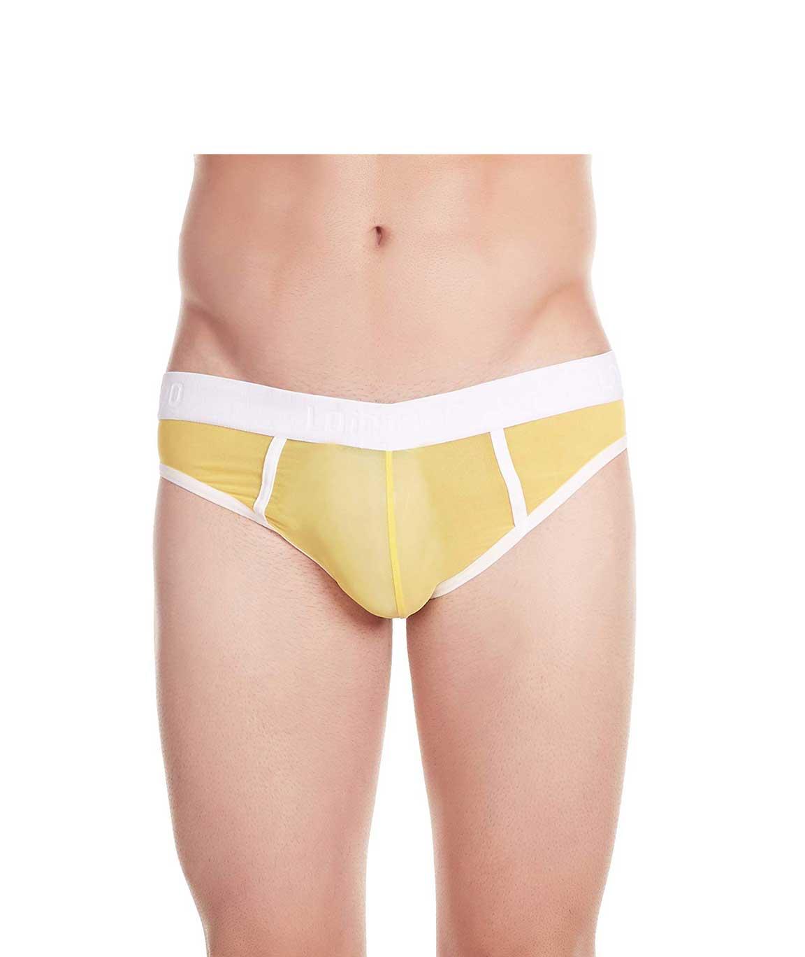 La Intimo - Power Net Bikini (Yellow)