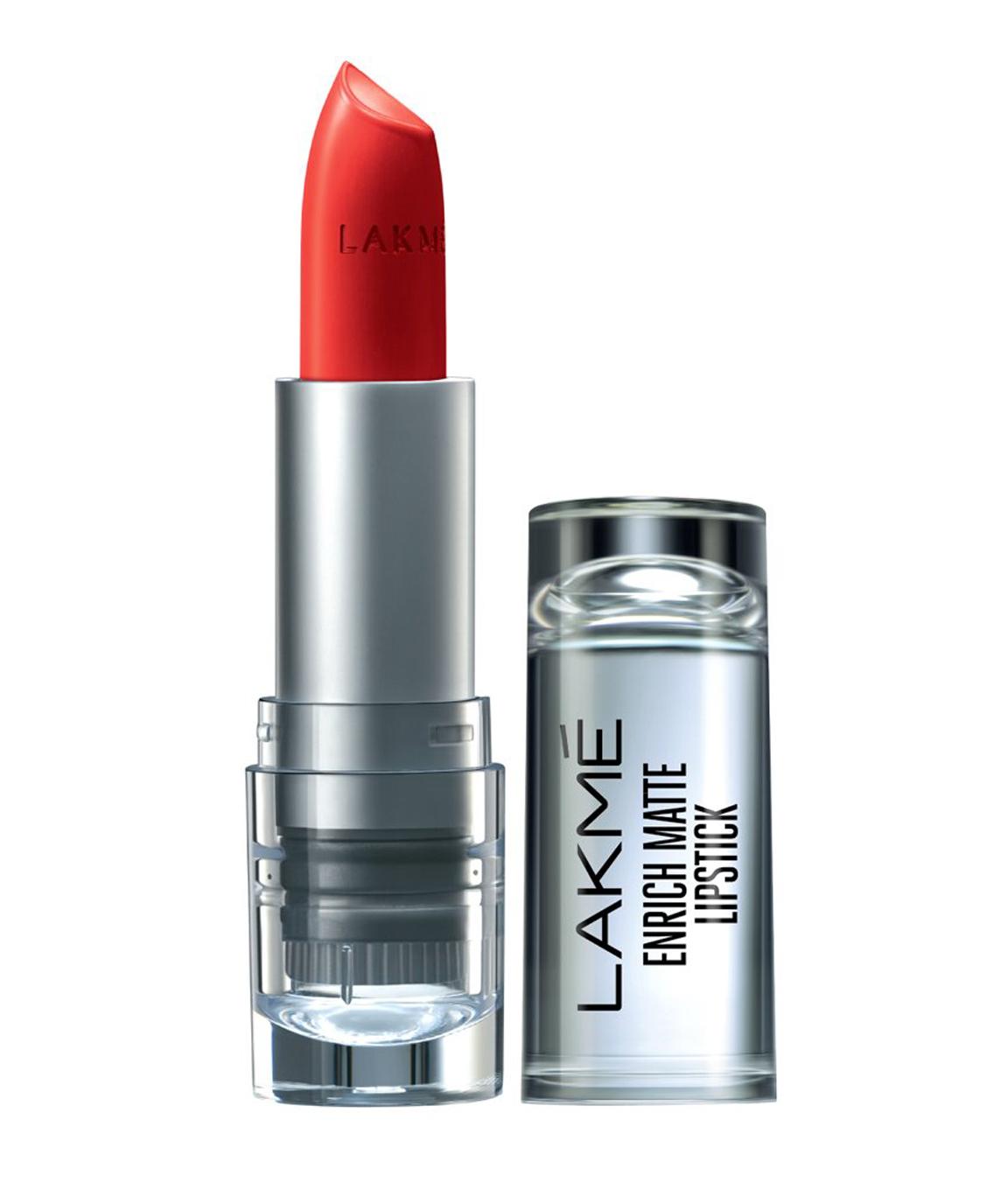 Lakme Enrich Matte Lipstick, Shade RM14, 4.7gm
