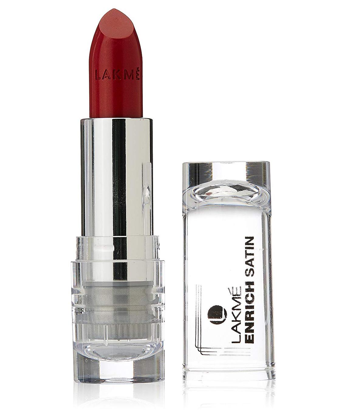 Lakme Enrich Satins Lip Color Shade R357 4.3g