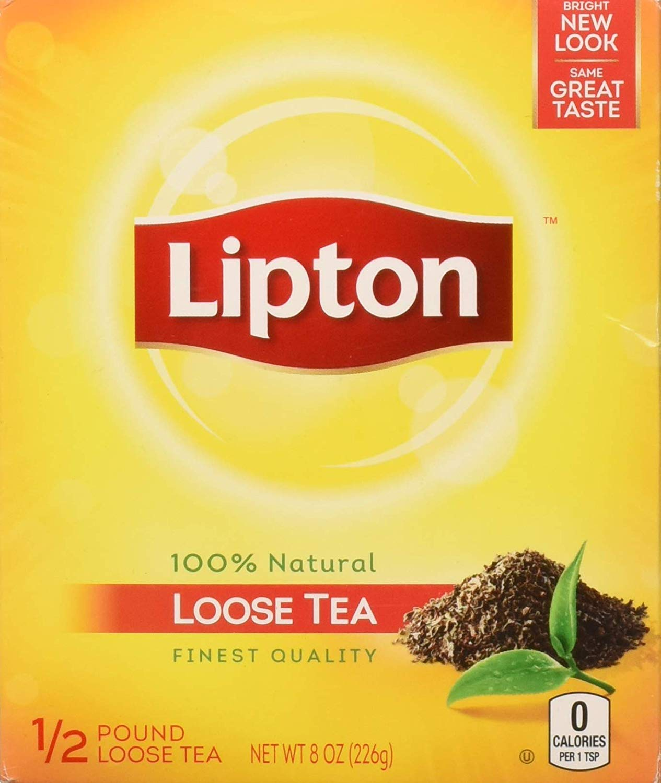 Lipton Black Loose Tea (1/2 Lbs Box)