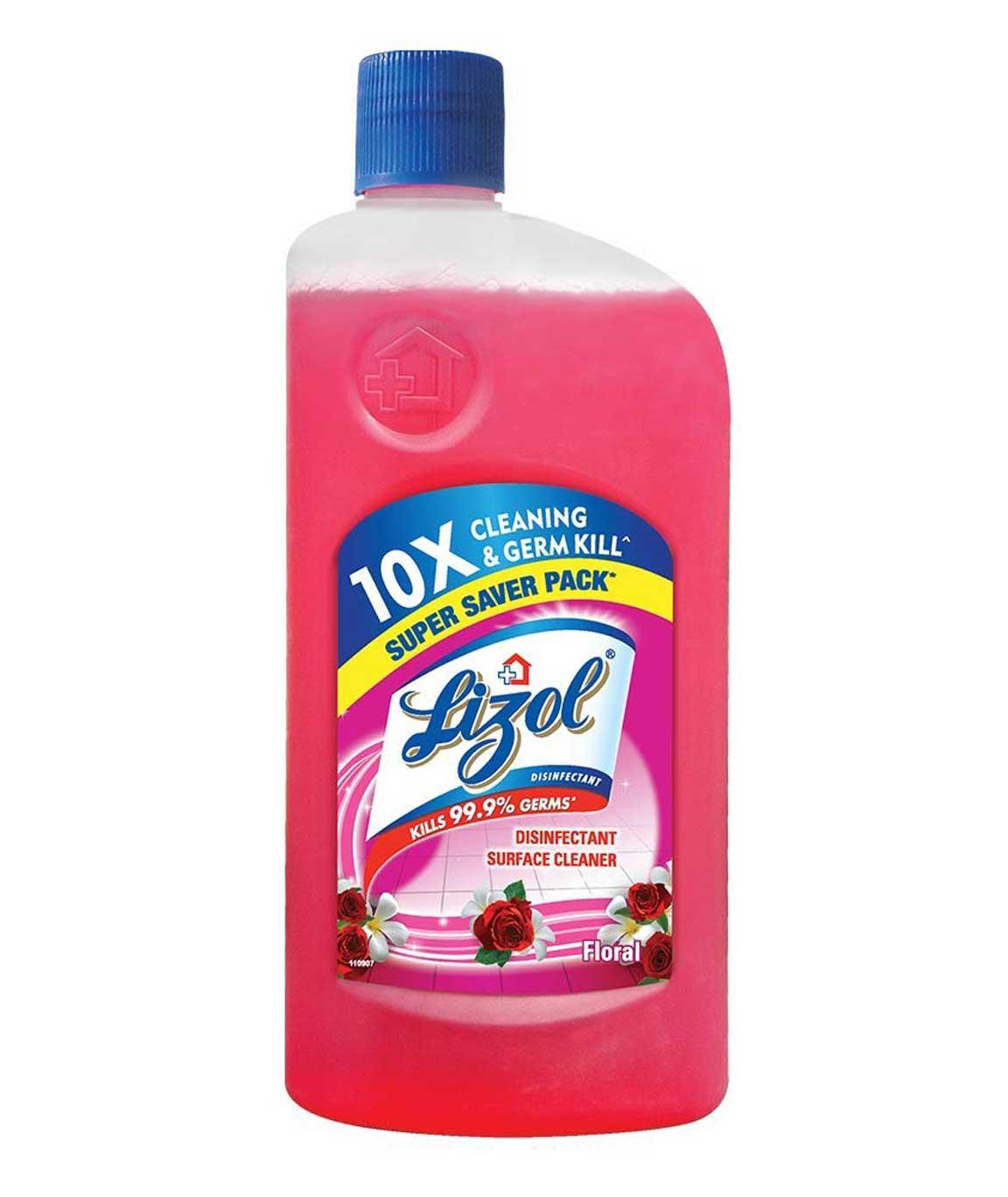 Lizol Disinfectant Floor Cleaner Floral 500 ml