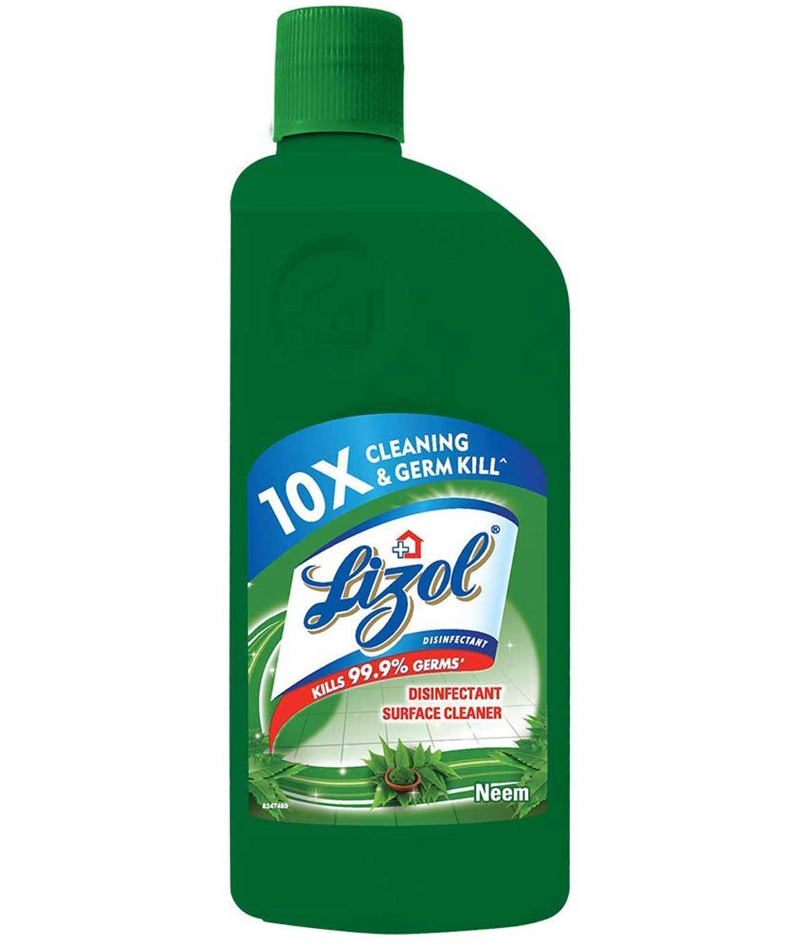 Lizol Disinfectant Surface Cleaner - 500 ml (Neem)