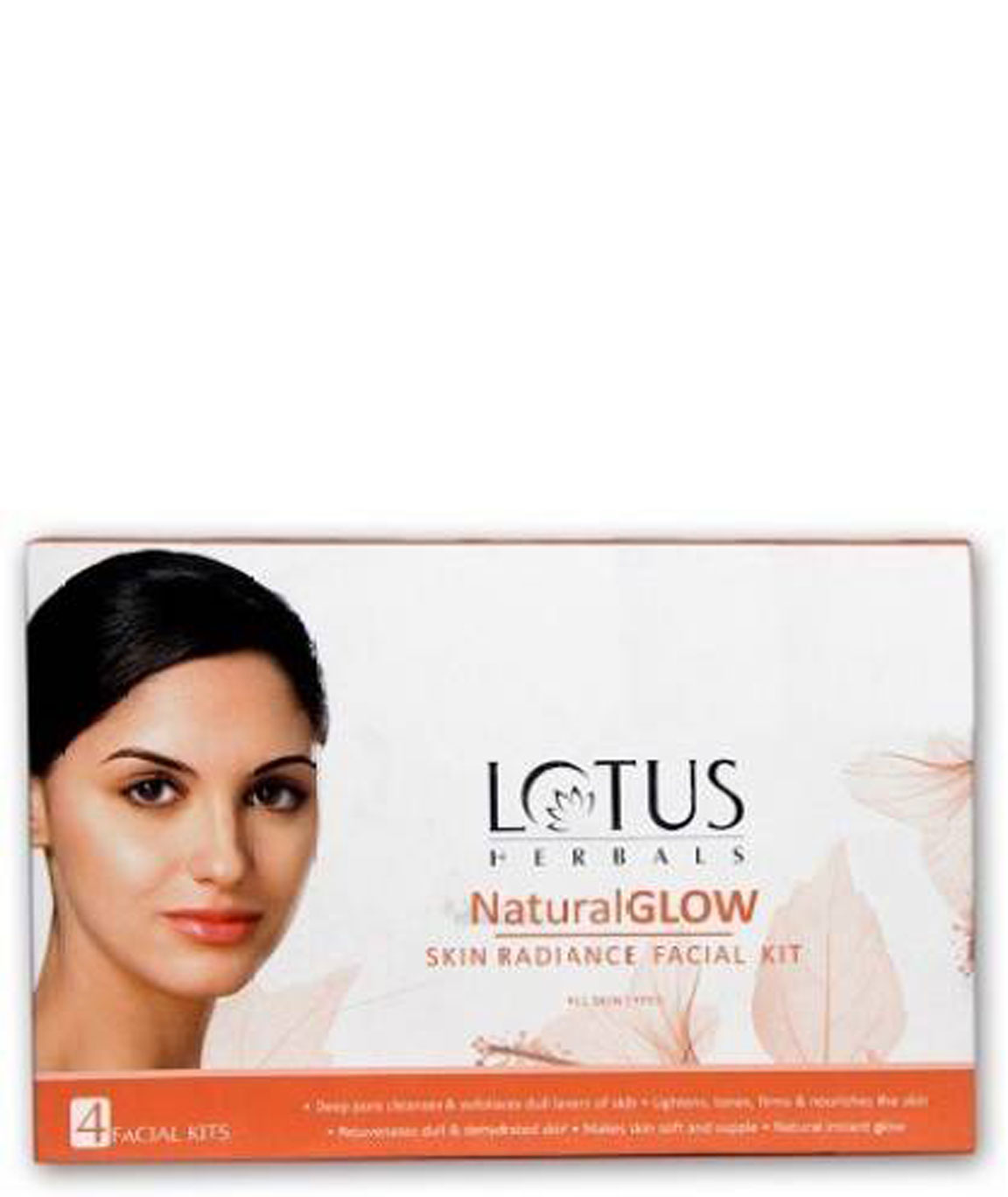 Lotus Herbals Natural Glow Kit Skin Radiance 4 Facial Kit