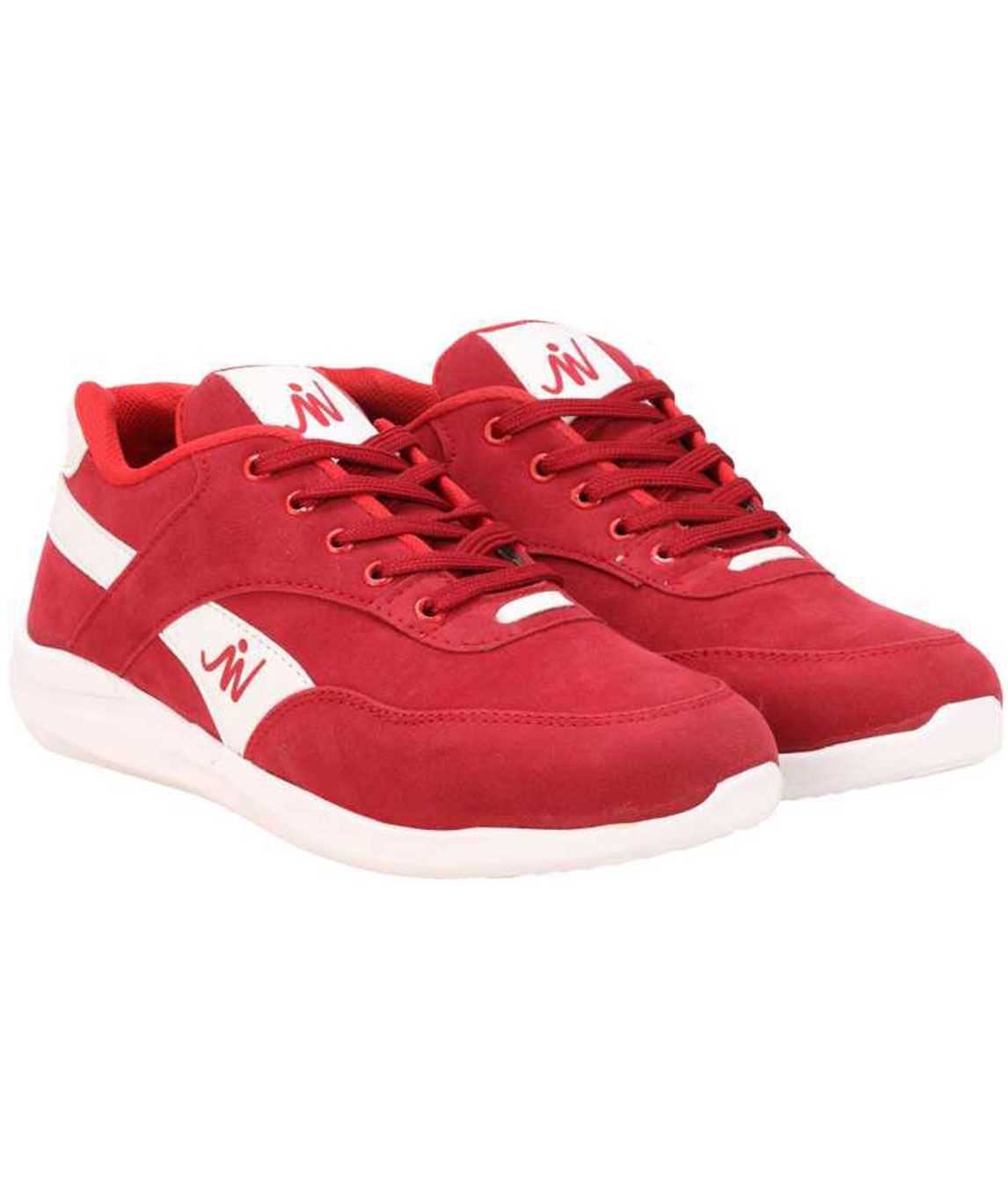 M-RBUK WALKING SHOES FOR MEN (RED)