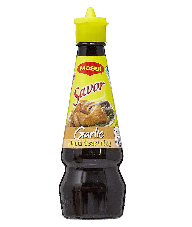 Maggi Savor Garlic Liquid Seasoning, 130ml