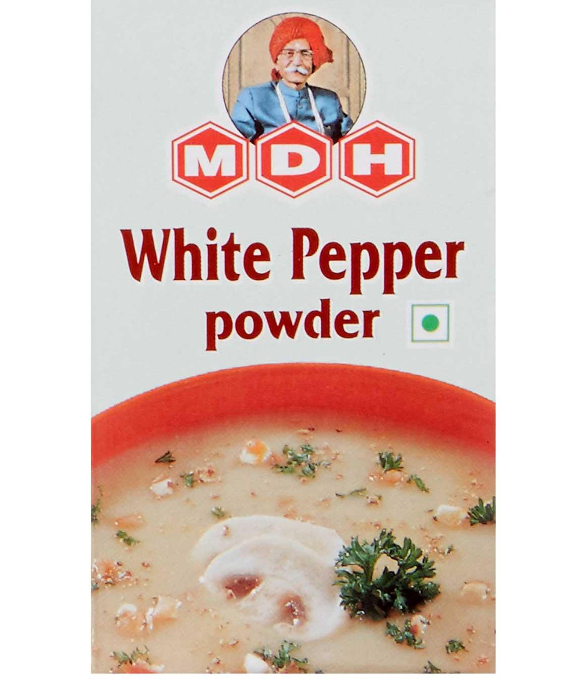 MDH White Pepper Powder, 100g