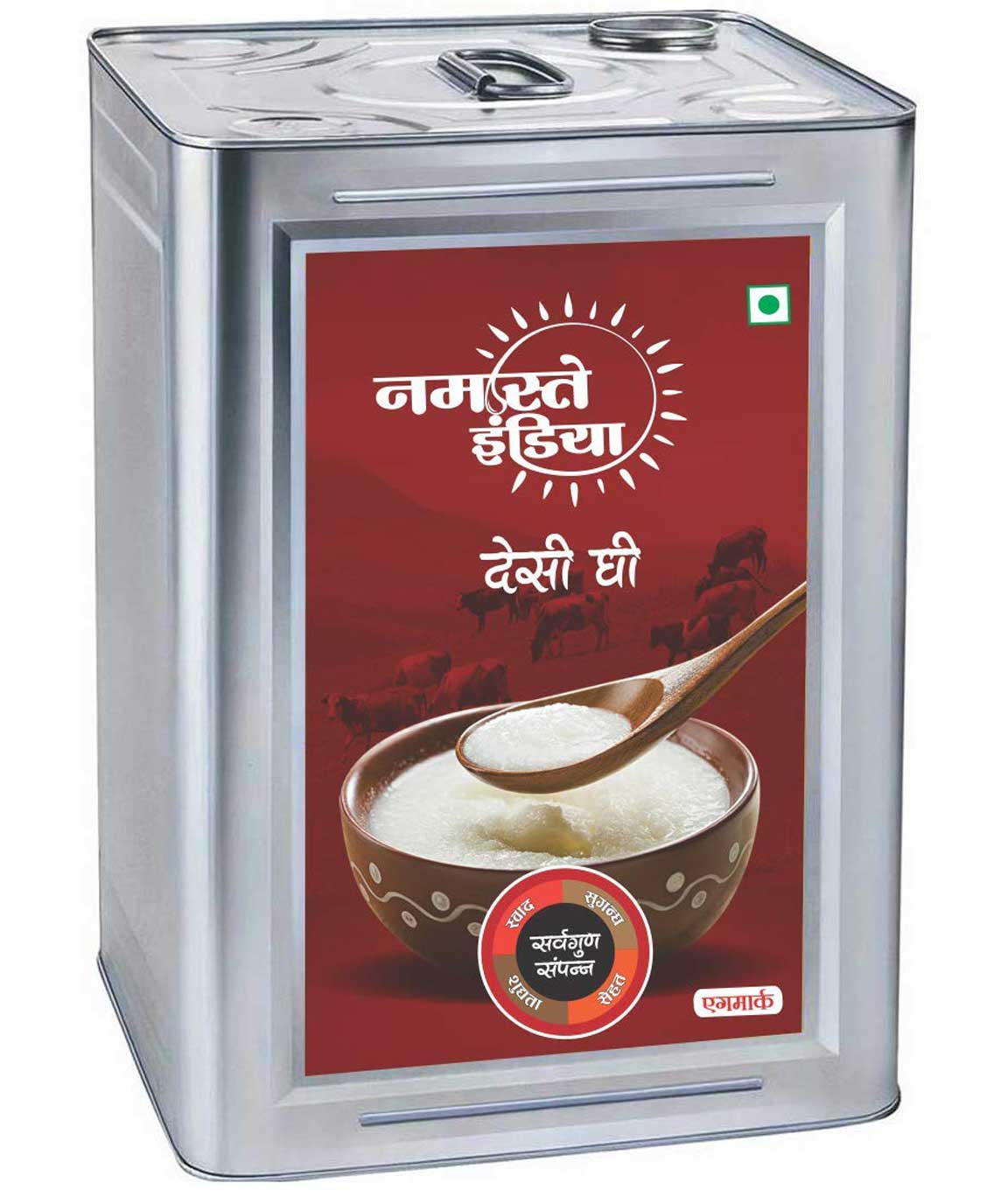 Namastey India Ghee Tin (1 L)