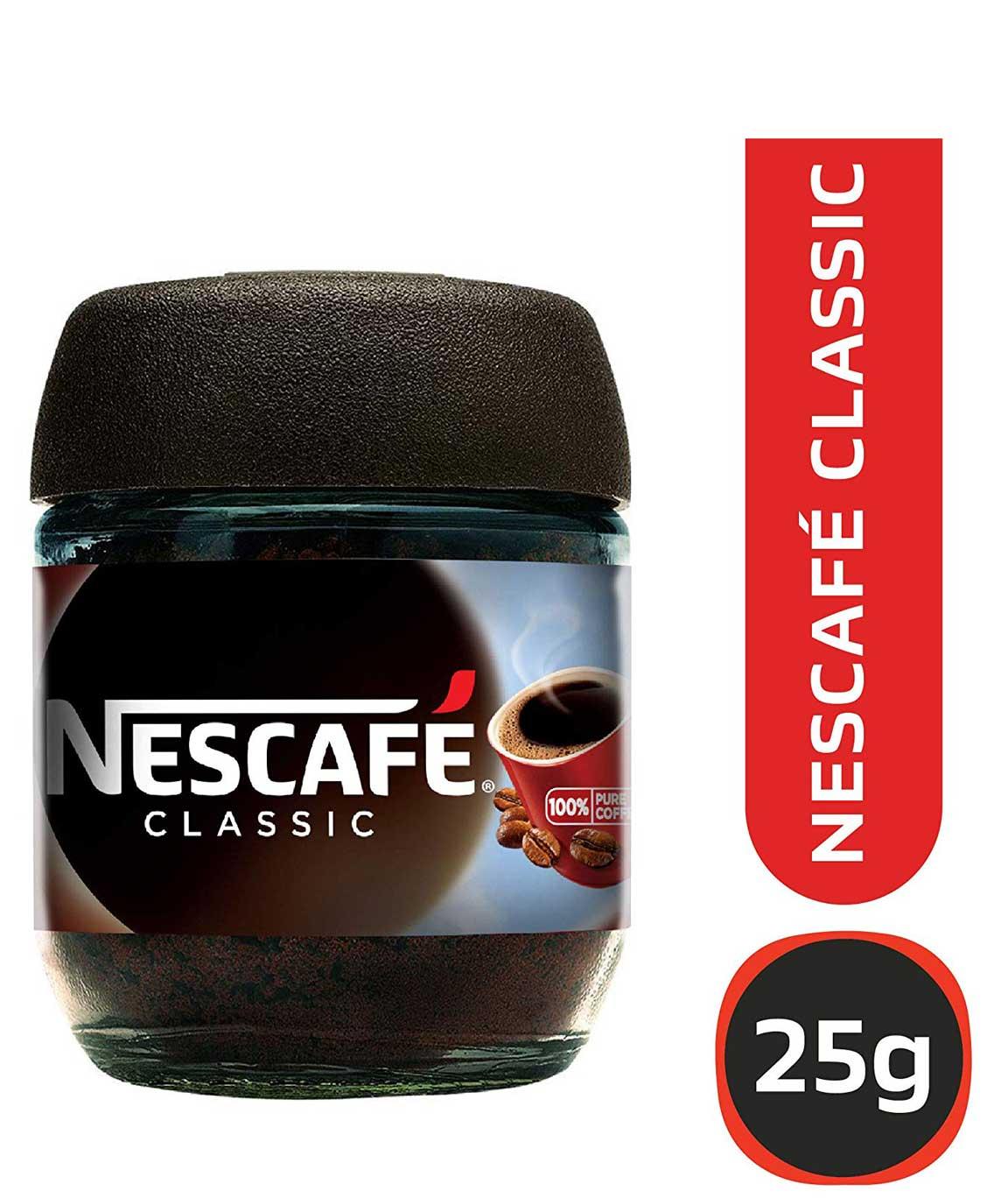 Nescafé Classic Coffee, 25g Dawn Jar
