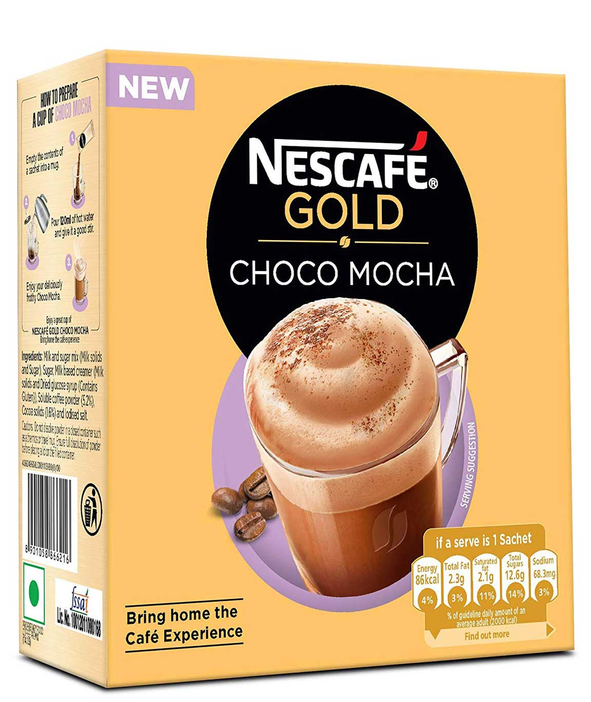 Nescafe Dolce Gusto Grande, Pack of 3 (Total 48 Capsules, 48 Servings)