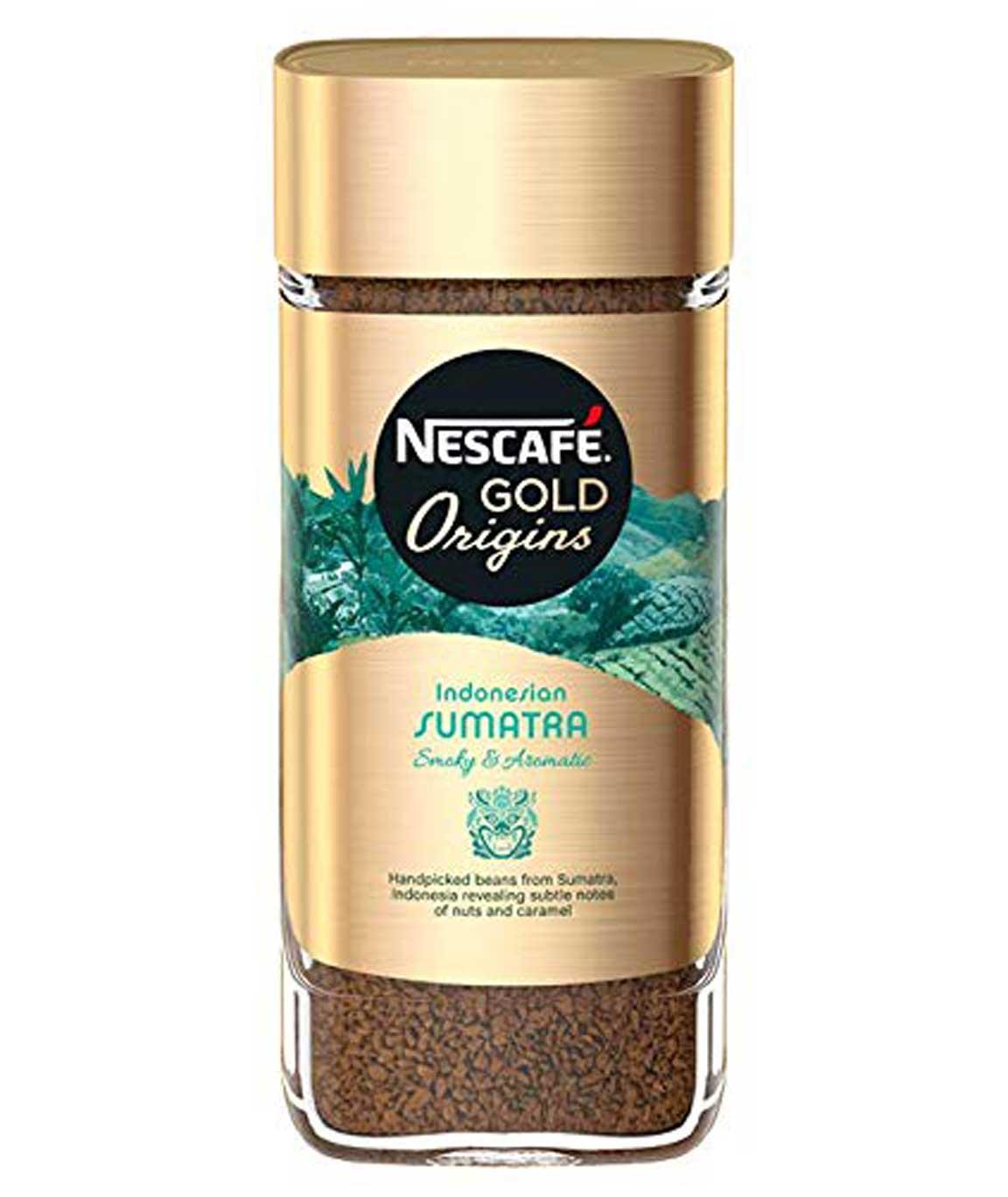 Nescafe Gold Origins Indonesian Sumatra Coffee Bottle, 100g
