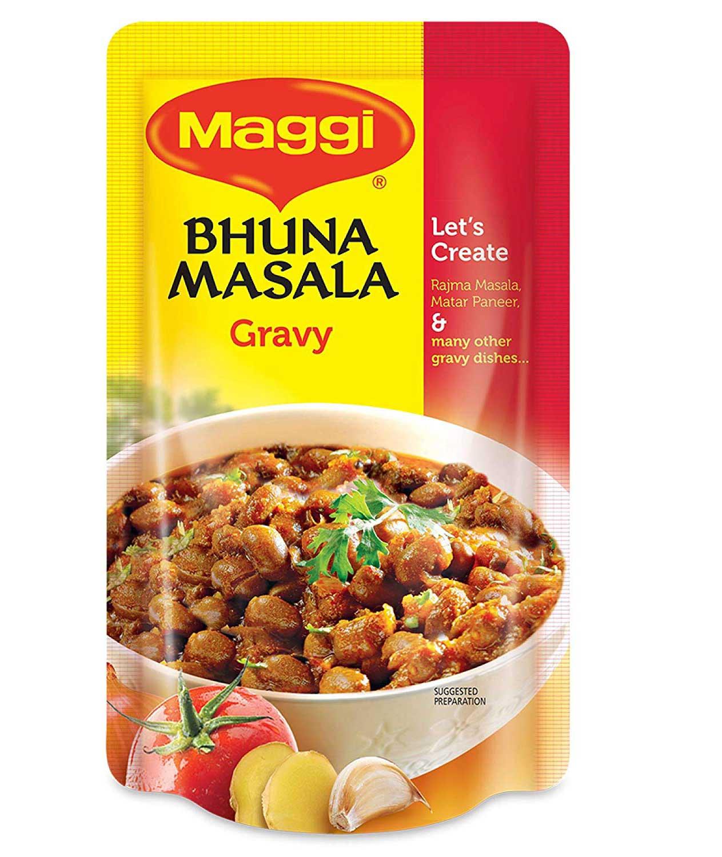 Nestle MAGGI Bhuna Masala Vegetable Seasoning, Gravy 65g PouchPack of 3