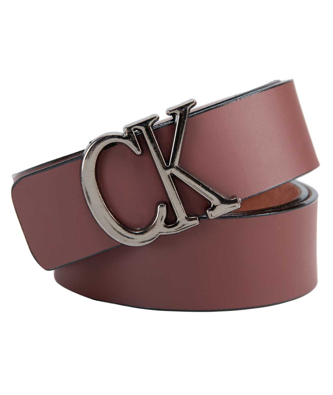 New Latest Stylish Brown Leatherette  Belt For Men`s