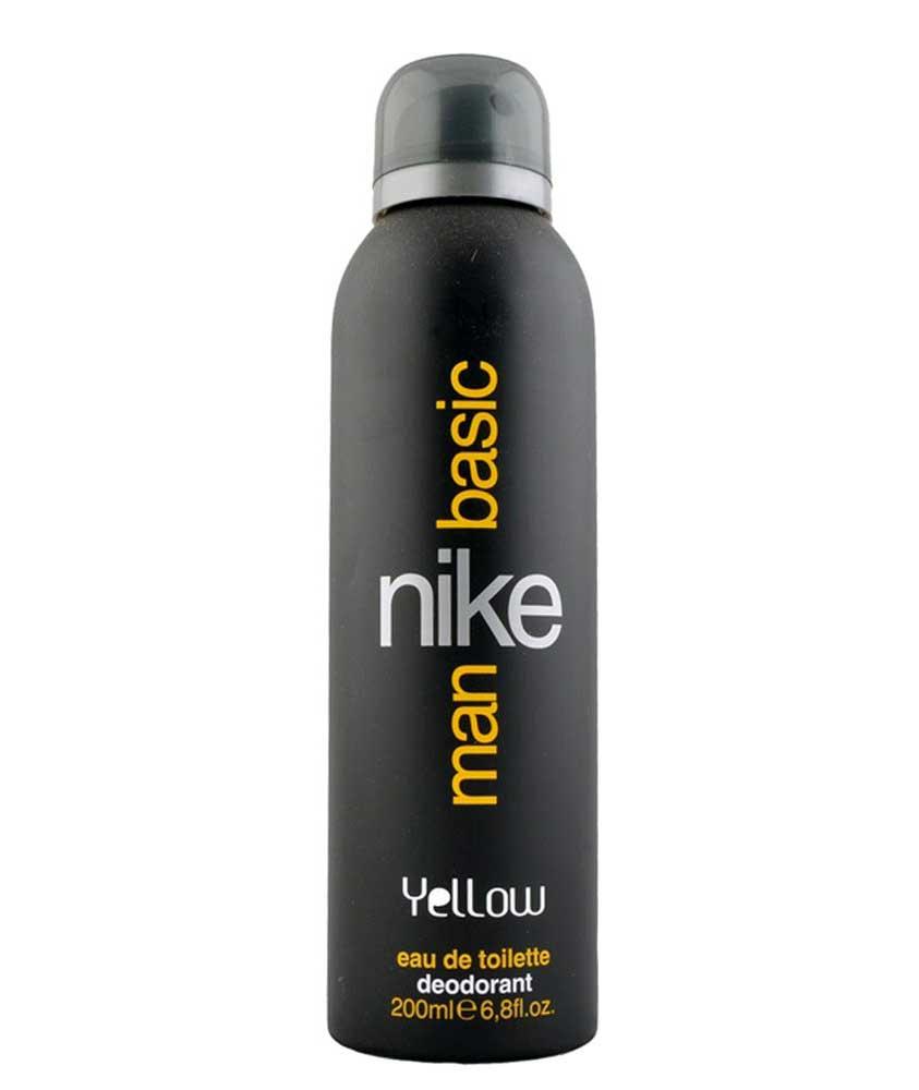 Nike Basic EDT Deo for Men, Yellow, 200ml