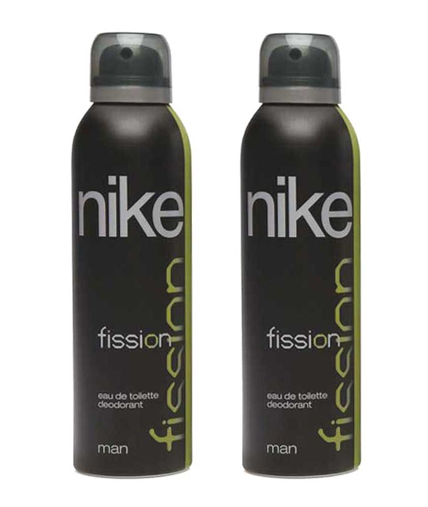 Nike Fission Deodorant for Men, 200ml (Pack of 2)
