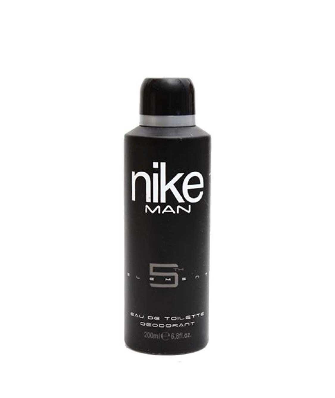 Nike N5Th Element EDT Deo Spray for Men, Black, 200ml