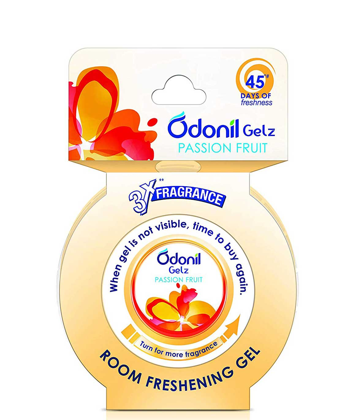 Odonil Gel Air Freshener Passion Fruit - 75gm