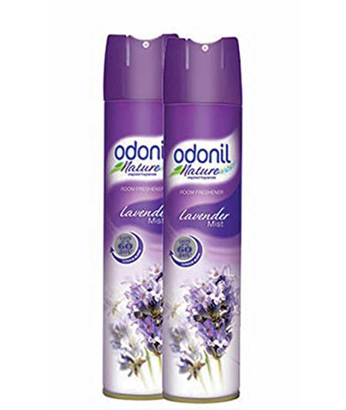 Odonil Room Spray - 140 g (Lavender Mist Pack of 2)