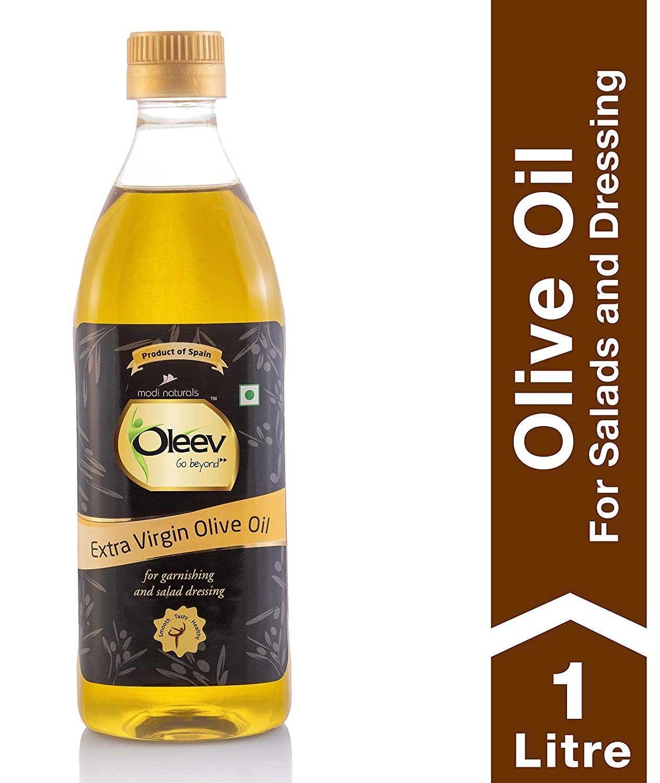 Oleev Extra Virgin Olive Oil for Garnishing & Salad Dressing PB 1L