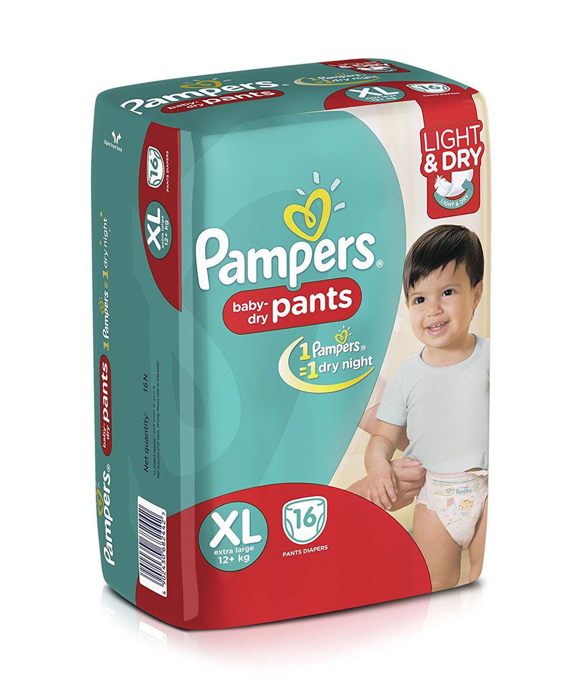 Pampers Extra Large Diaper Pants (16 Count)