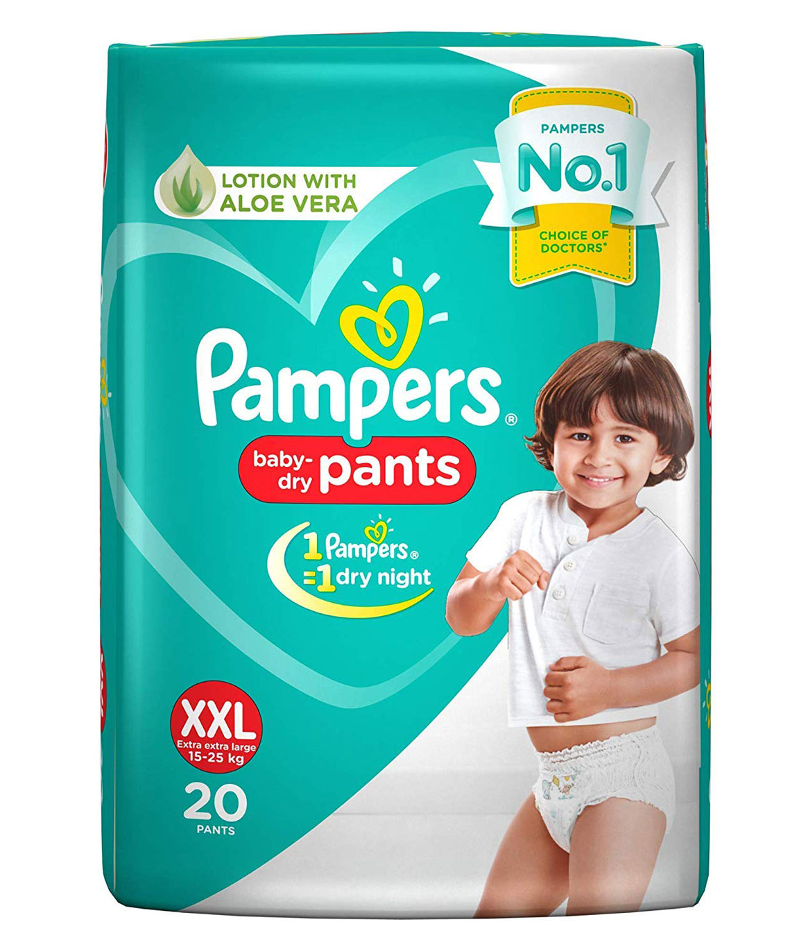 Pampers New Diapers Pants, XX-Large (20 Count)