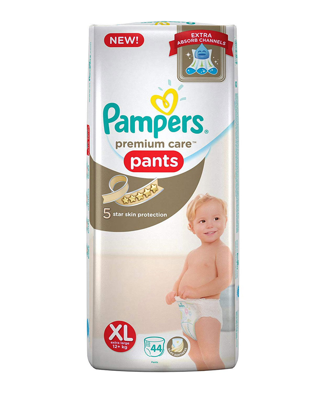 Pampers Premium Care Extra Large Size Diapers Pants (44 Count)