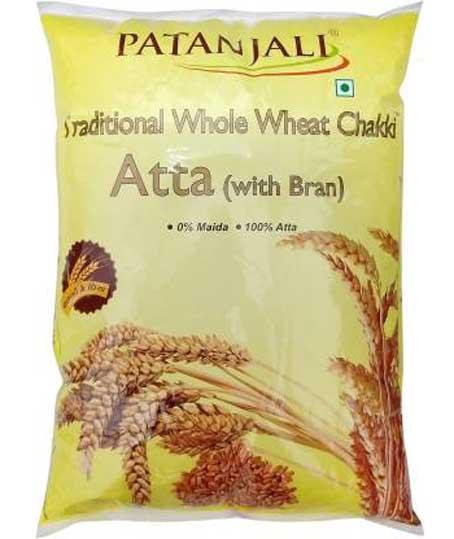 Patanjali Whole Wheat Atta  (5 kg)