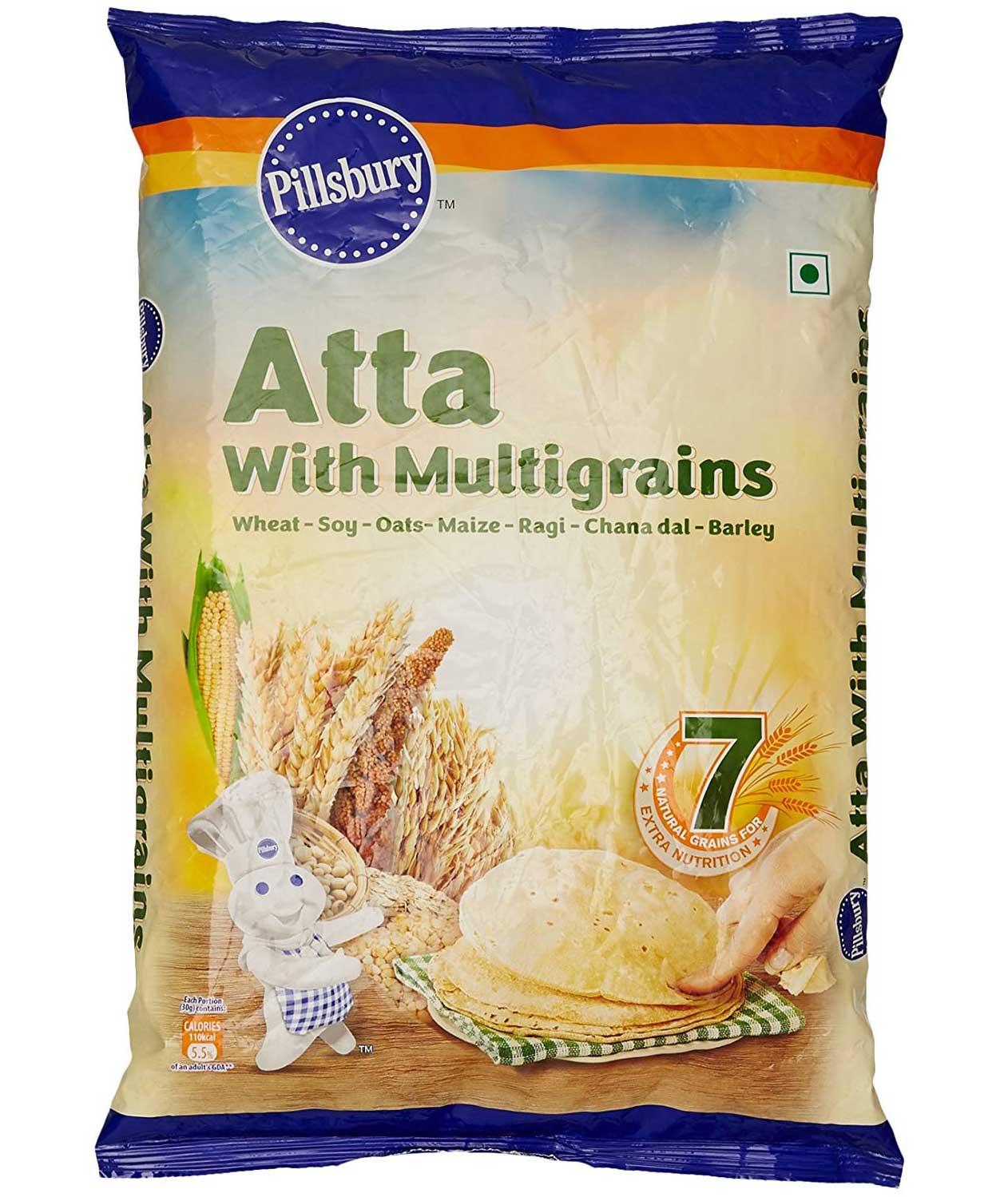 Pillsbury Multi Grain Atta, 5kg (North)