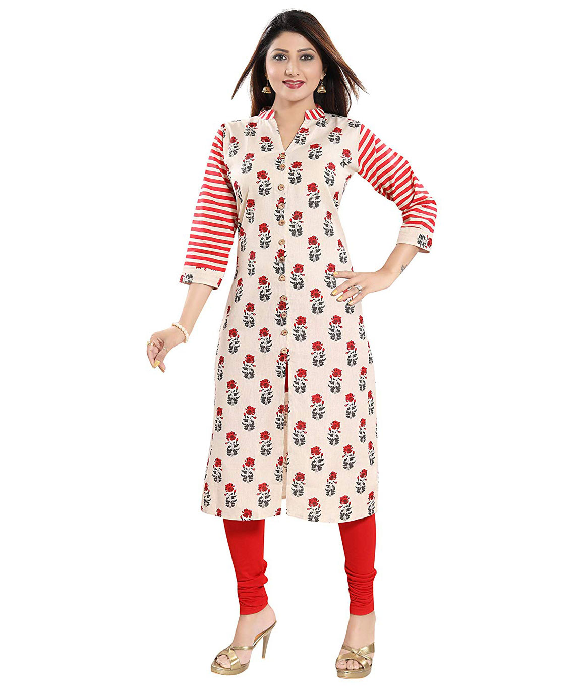 Plus Size Khadi Cotton Kurti
