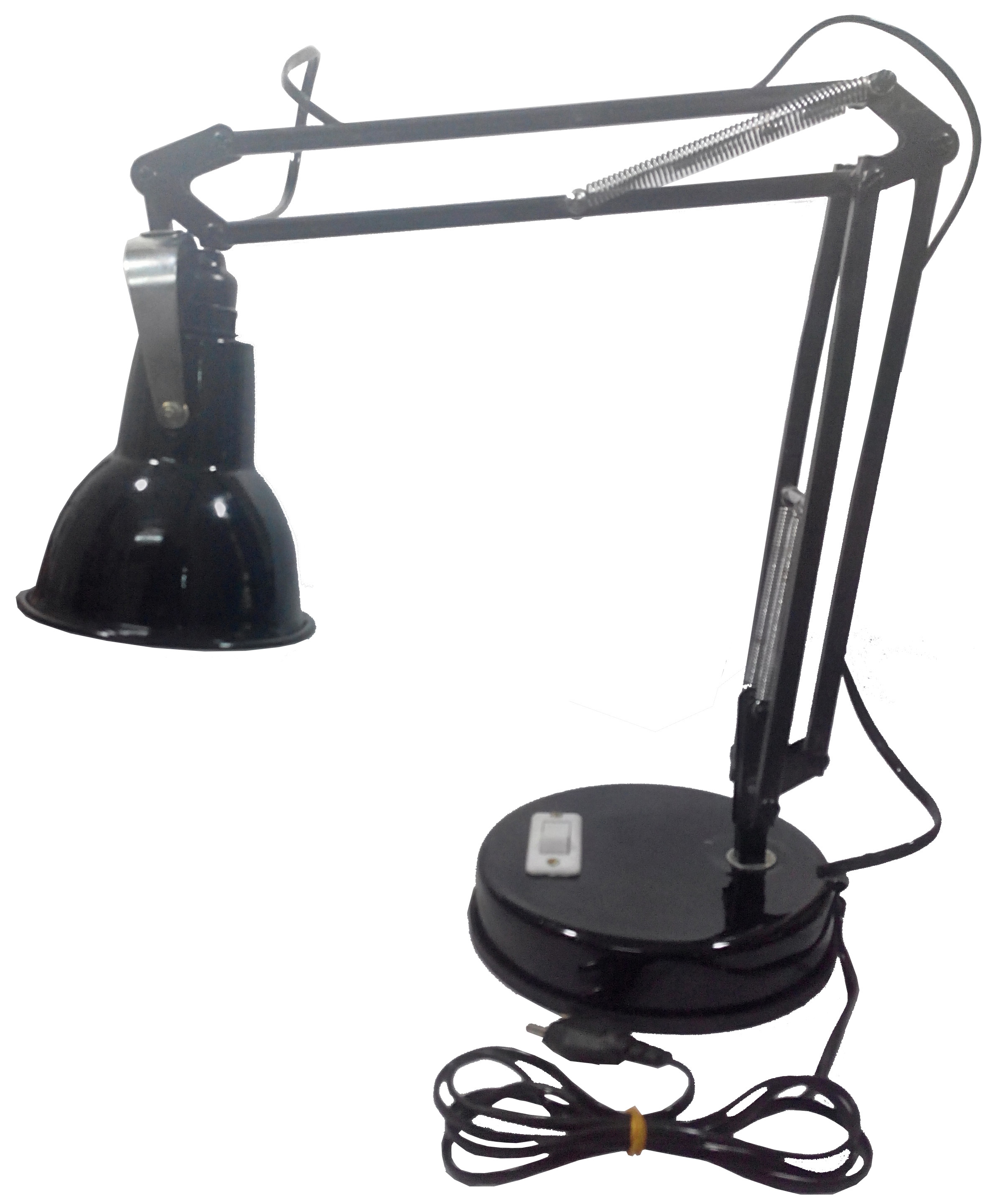 RDC 10 Inches Arm Black Doctors` Lamp for Study/Reading / Work/Professional`s & Technician`s Use
