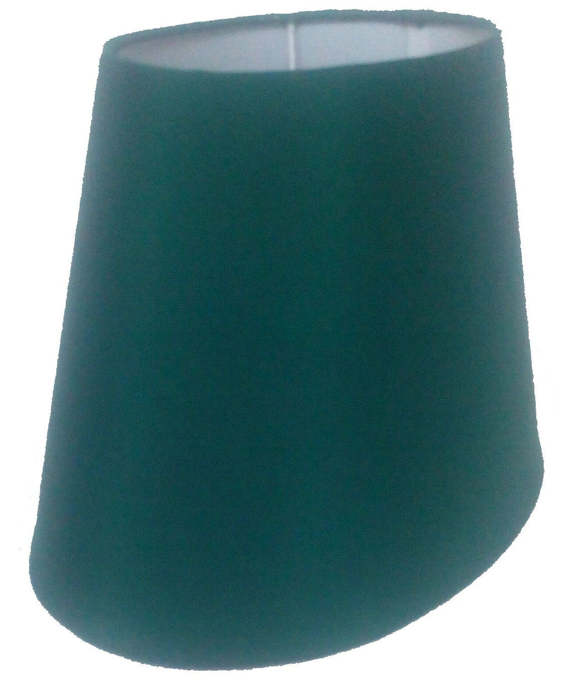 RDC 10 Inches Oval Plain Green Lamp Shade for Table Lamp