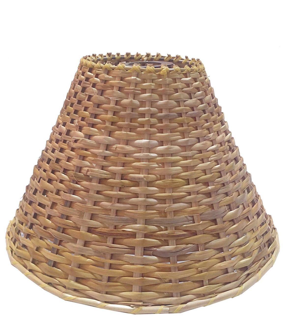 RDC 10 Inches Round Cane Hanging Pendant Lamp Shade