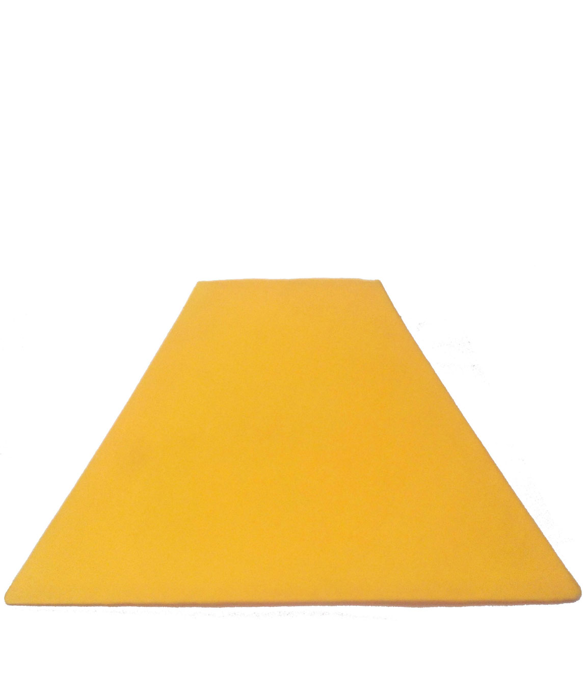 RDC 10 Inches Square Plain Yellow Lamp Shade for Table Lamp