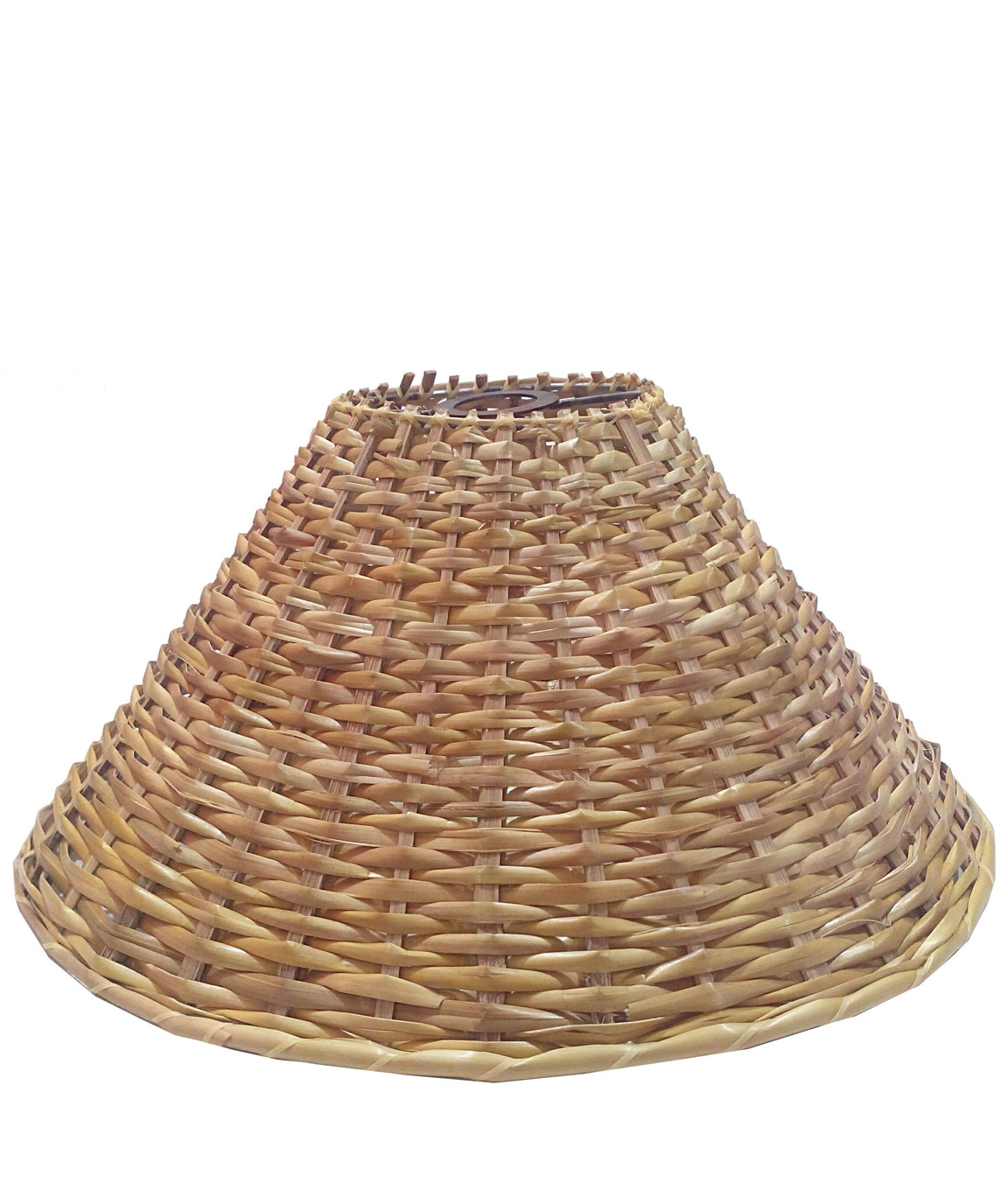 RDC 13 Inches Round Cane Hanging Pendant Lamp Shade