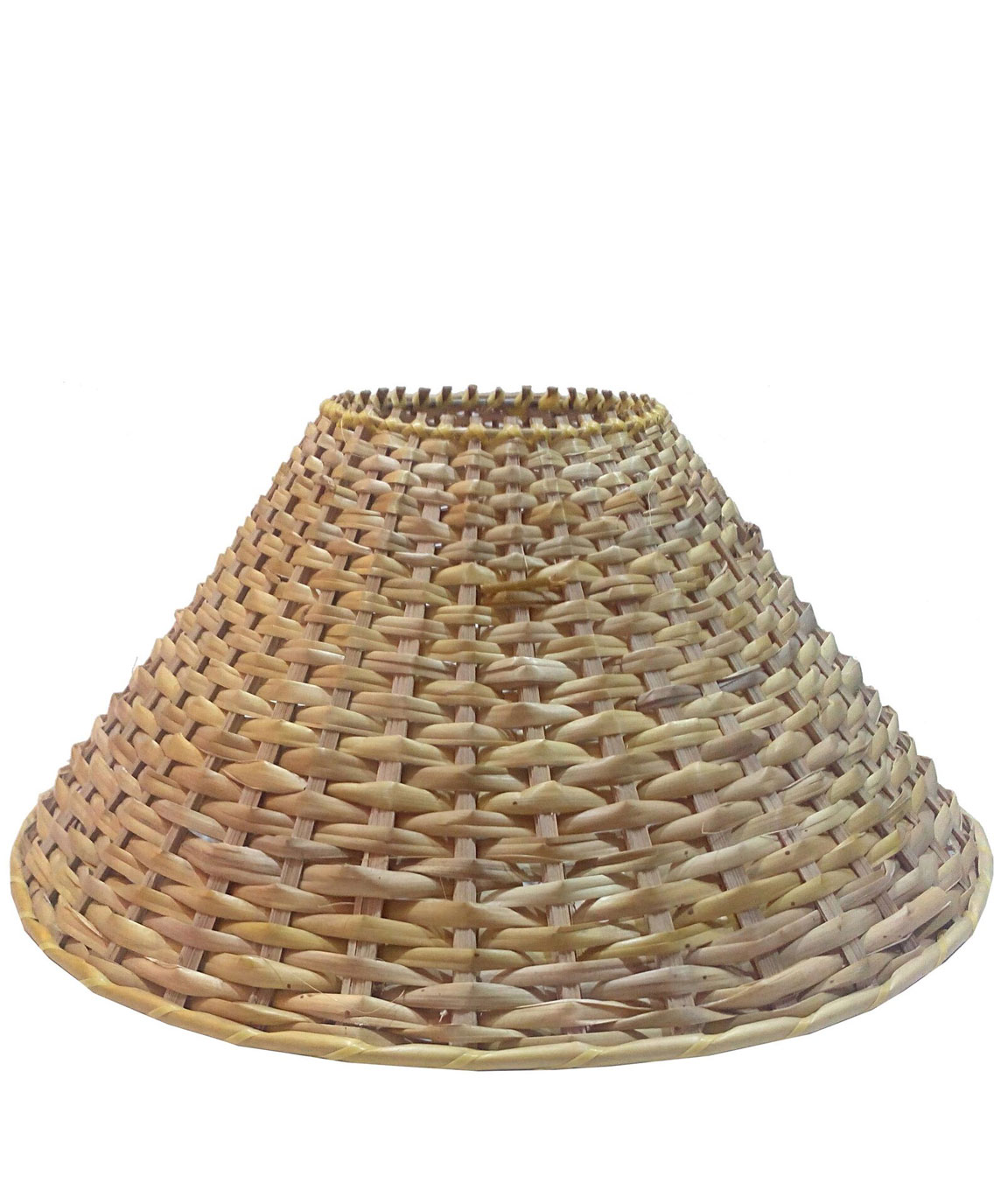 RDC 13 Inches Round Cane Lamp Shade for Lamp