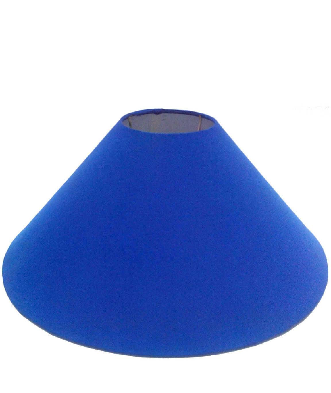 RDC 13 Inches Round Plain Indigo Lamp Shade for Table Lamp