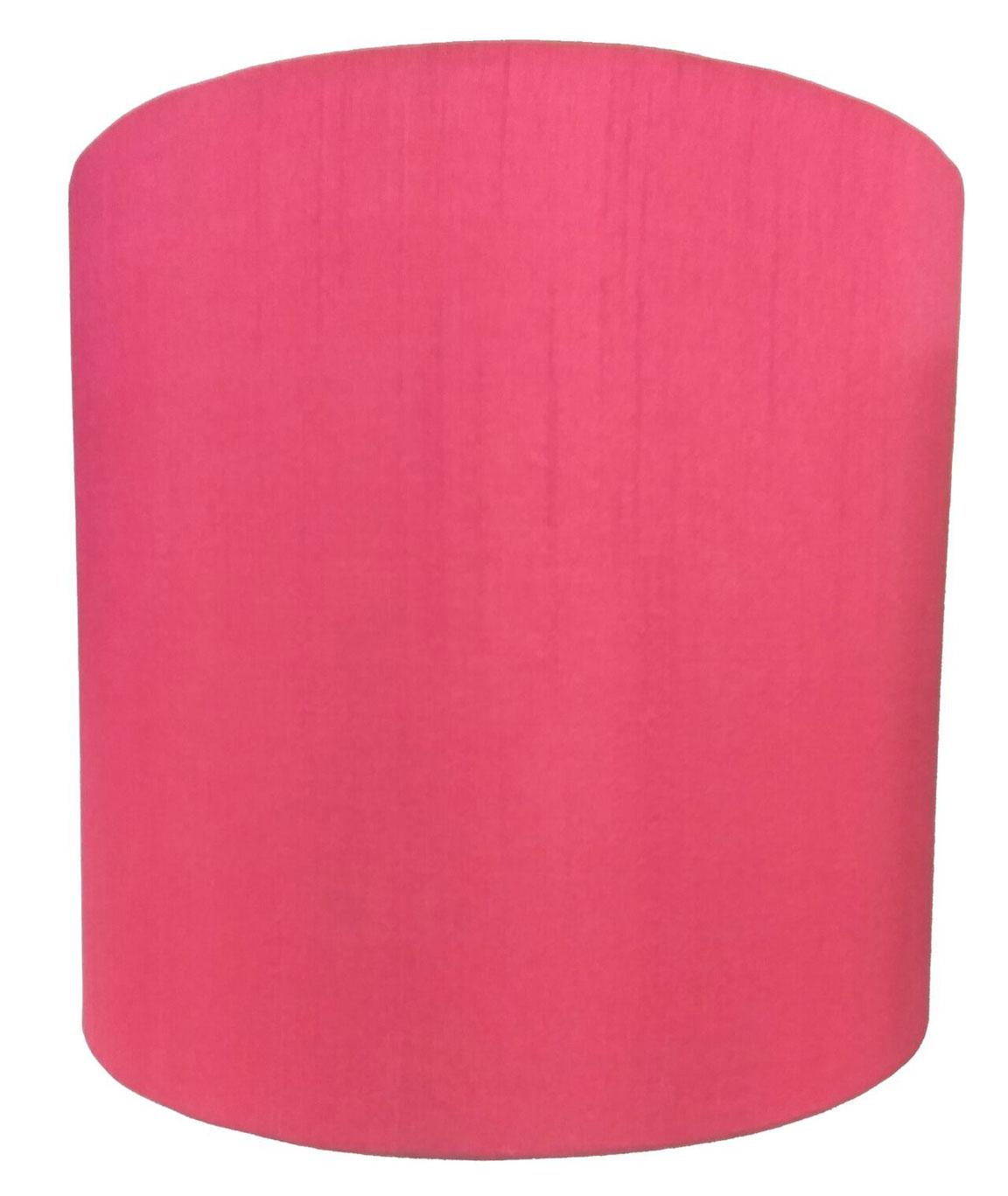 RDC 23 CMS Plain Rani Pink Half-Cylindrical Wall Hanging Lamp Shade