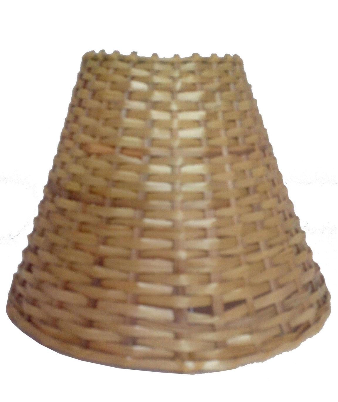 RDC 8 Inches Round Cane Lamp Shade for Table Lamp